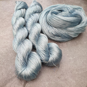 Sky. Tencel 4-ply/fingering