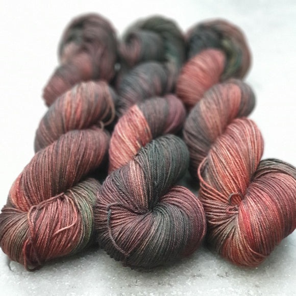 Spiced. Merino Nylon 4-ply/fingering