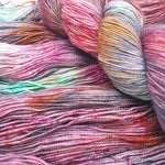 Load image into Gallery viewer, Surreal Spring. BFL Nylon High Twist 4-ply/fingering