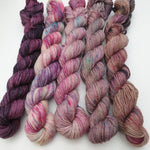 Load image into Gallery viewer, Warm Mini Set (5 x 20g). Non Superwash Merino 4-ply/fingering