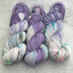 Winter Garden. Merino Nylon 4-ply/fingering