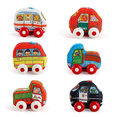 Cloth Toy Car - Letkidzplay.com