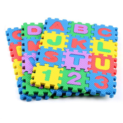 ABC, 123 Playmat - Letkidzplay.com
