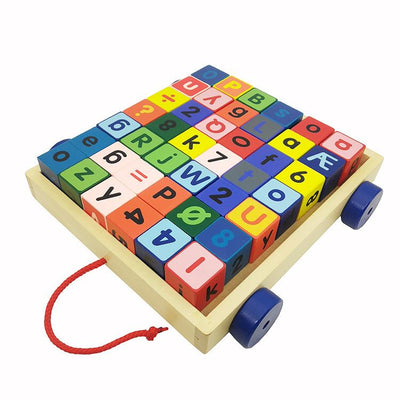 Blocks & Tractor - Letkidzplay.com