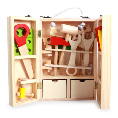 Wooden Toolbox - Letkidzplay.com
