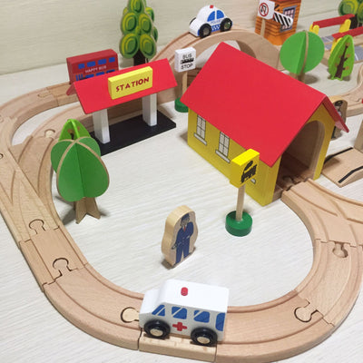 Wooden Tracks  - Letkidzplay.com