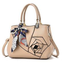Charger l'image dans la galerie, LIKETHIS 2018 Vintage Women's Handbags Tote PU Leather Bags Messenger Hot Sale Scarves High Capacity Handbag Pochette Femme GG