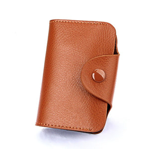 Men Wallets Genuine Leather 15 Card Holder Wallet Male Clutch Pillow Designer Small Wallet Women Purse Unisex Cards  Handy Bag