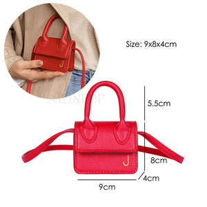 2020 Fashion Super Mini Handbags for Women Cute Shoulder Bags Luxury Designer Small Crossbody Bags J Letter Girls Messenger Bags