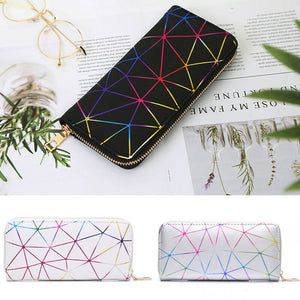 2020 New Fashion Women Wallet Soft PU Leather Zipper Wallet Long Women's Clutch Wallet Female Designer Coin Card Purse