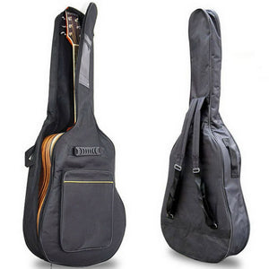 "36"" 38"" 39"" 41"" Acoustic Guitar Backpack Double Straps Padded Guitar Soft Case Gig Bag"