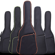 Charger l'image dans la galerie, New Oxford Fabric Electric Guitar Case Colorful Edge Gig Bag Double Straps Pad 8mm Cotton Thickening Soft Cover Backpack