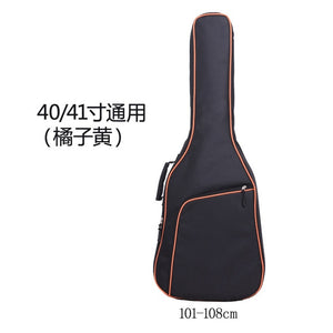 New Oxford Fabric Electric Guitar Case Colorful Edge Gig Bag Double Straps Pad 8mm Cotton Thickening Soft Cover Backpack