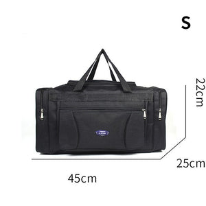 Oxford Waterproof Men Travel Bags Hand Luggage Big Travel Bag Business Large Capacity Weekend Duffle Travel Bag
