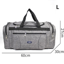 Charger l'image dans la galerie, Oxford Waterproof Men Travel Bags Hand Luggage Big Travel Bag Business Large Capacity Weekend Duffle Travel Bag