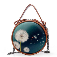 Charger l'image dans la galerie, Circular Designer Women Shoulder Bag Leather femme Crossbody Evening Clutch Messenger Bag Ladies Round Bolsa Handbag Female
