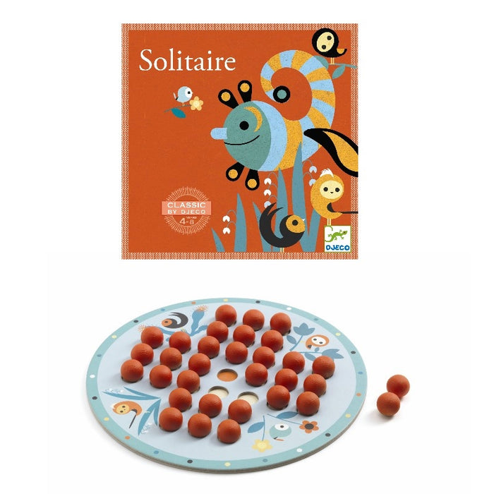 Solitaire spil - Djeco