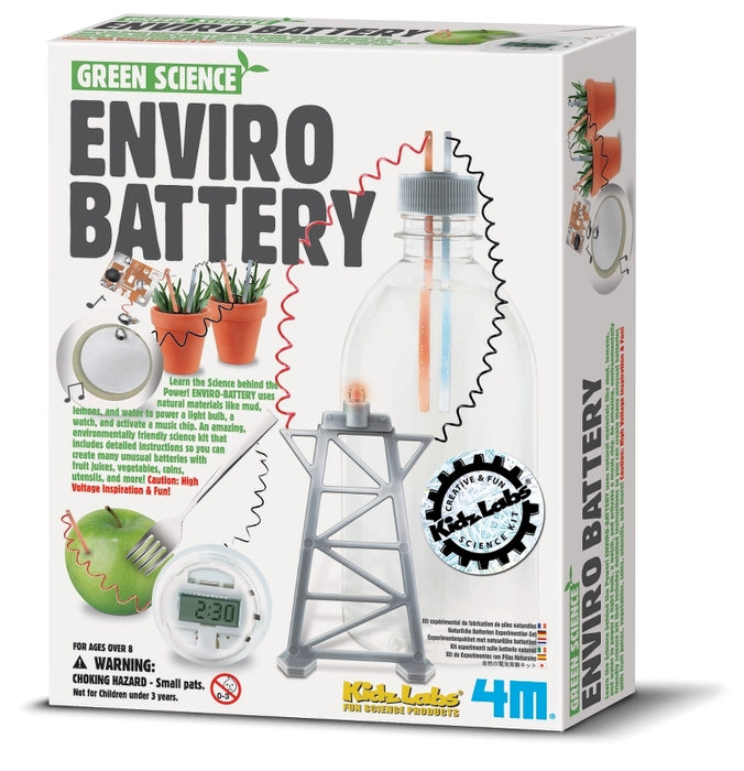 4M - Green Science Enviro batteri