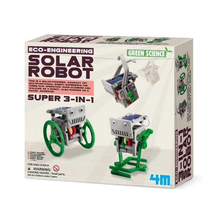 4M - Green Science Soldreven robot