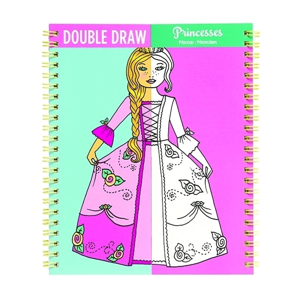 Double draw malebog, prinsesse - Mudpuppy
