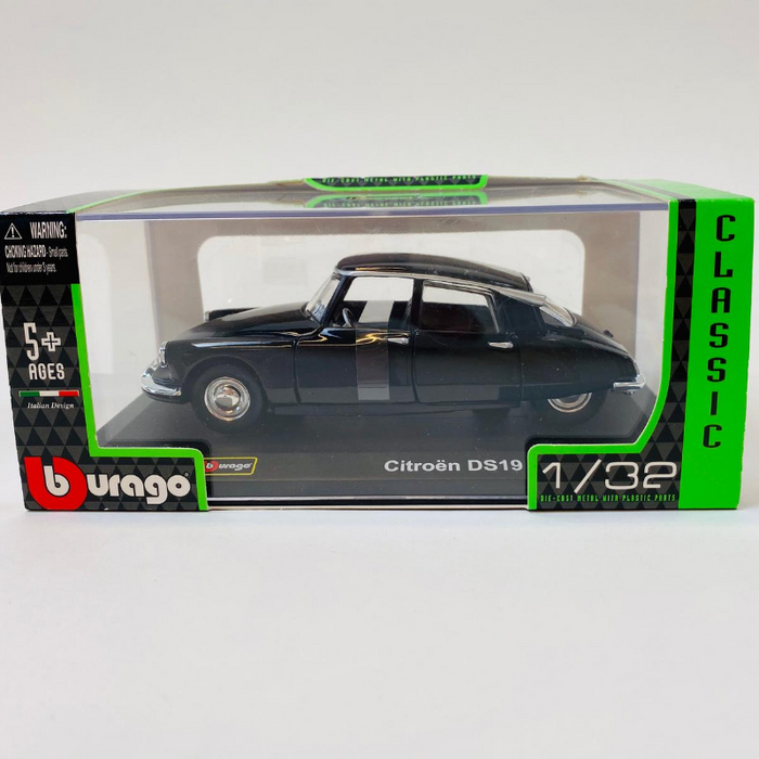 1:32 citroën DS19 sort - Burago