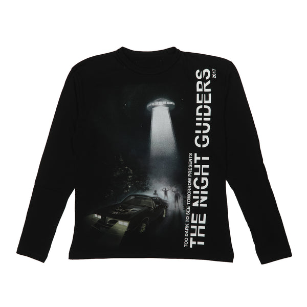 NIGHT GUIDERS LONG SLEEVE T-SHIRT