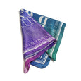 MULTICOLOR SQUARE SILK SCARF