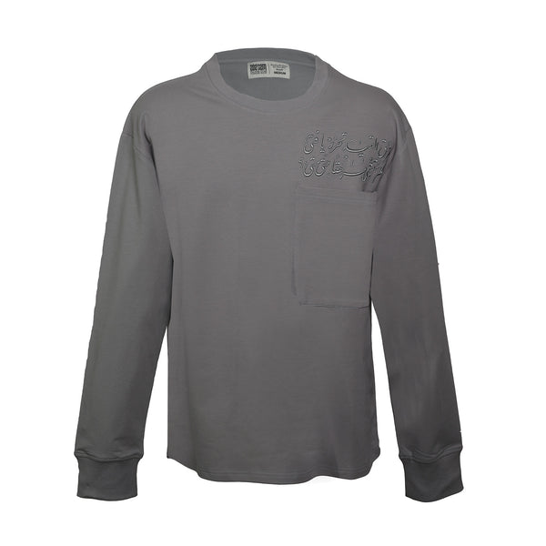 CREWNECK LONG-SLEEVE T-SHIRT