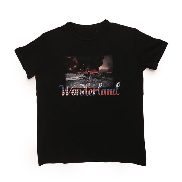 WONDERLAND T-SHIRT (BLACK)