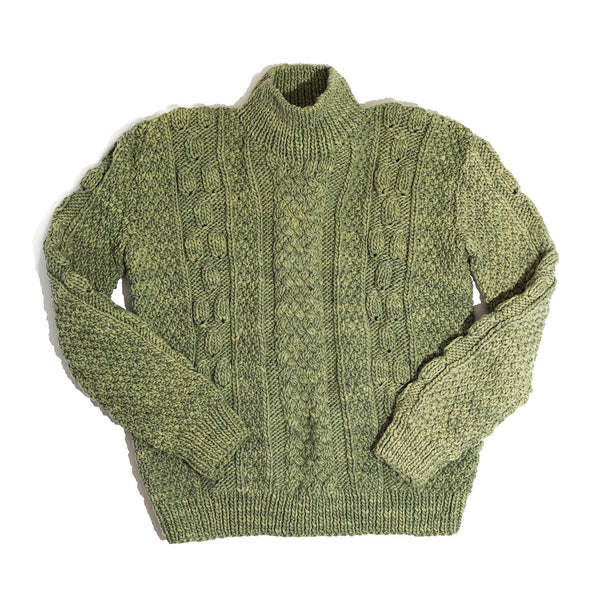 YERBA MATE HAND KNIT WOOL SWEATER
