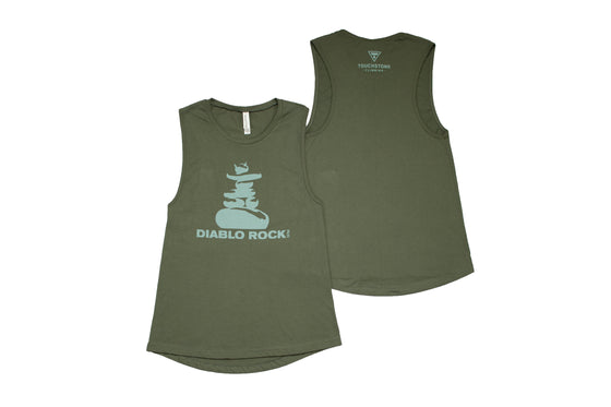 Diablo Rock Gym Muscle Tank - Women's