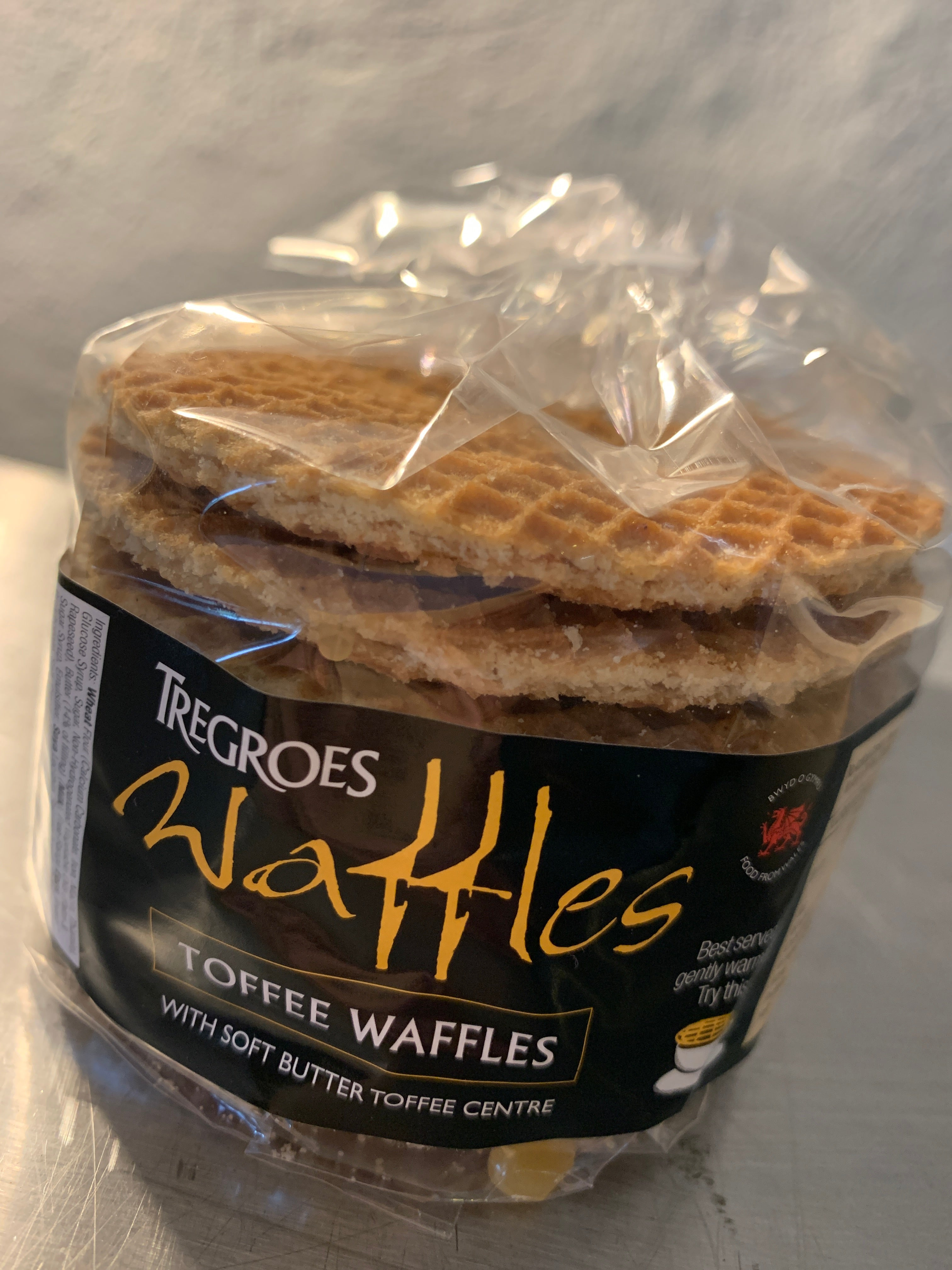 Tregroes Waffles Toffee