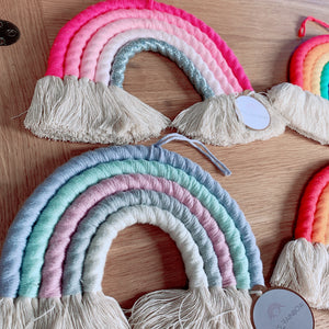 Enfys / Cotton Rainbow - wall hanging