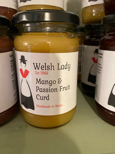 Mango & Passion Fruit Curd