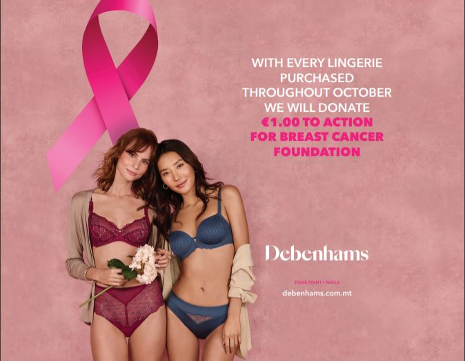 Debenhams Supports Action For Breast Cancer Foundation