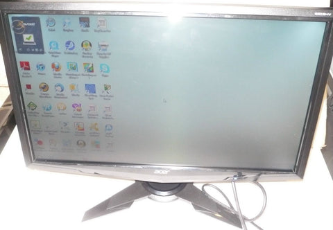 "Acer G215HV Black 21.5""  Full HD WideScreen LCD Monitor  (USED)"