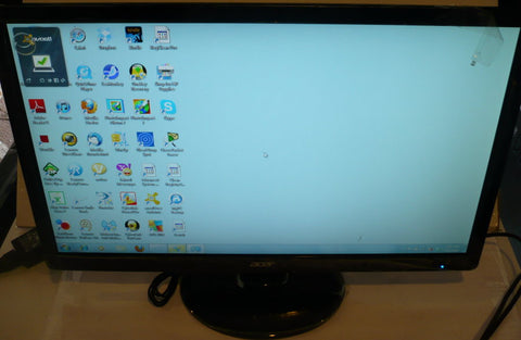 "Acer  S230HL Black 23"" Widescreen LED Monitor (small scratch)"