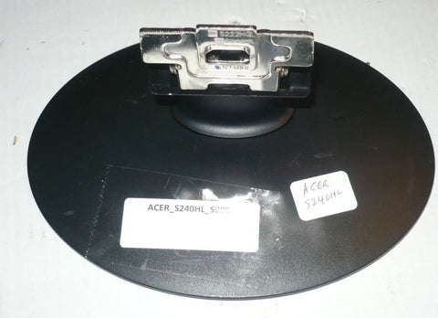 ACER S240HL COMPUTER MONITOR STAND (base)