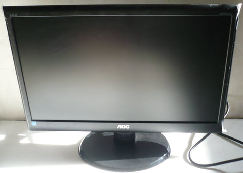 "AOC e950Swn Black 18.5"" 5ms Widescreen LED Backlight LCD Monitor"