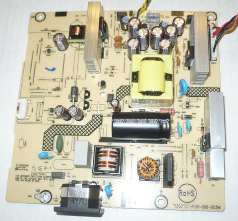 ASUS PB278Q MONITOR POWER SUPPLY BOARD DF561EQBM / 715G3727-P05-006-003M