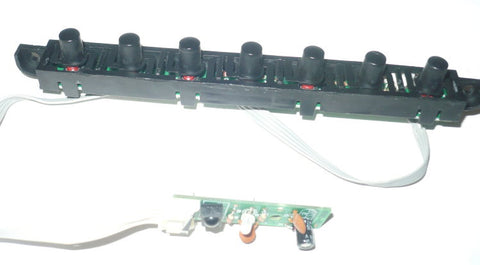 CURTIS PL4210A-2 PLASMA TV BUTTON AND IR BOARD