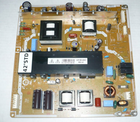 CURTIS PL4210A-2 PLASMA TV POWER SUPPLY BOARD LJ44-00187A / PSPF321501C