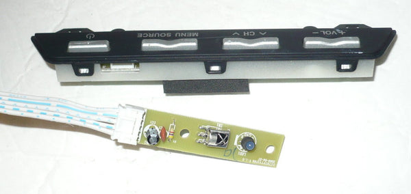 ELEMENT ELDFC601JA TV BUTTON AND IR BOARD SZTHTFTV1788