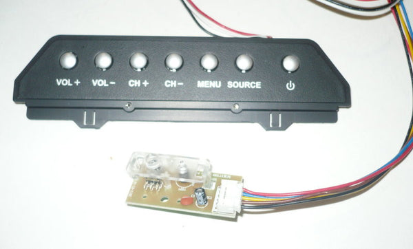 Replacement Element Eldfw407 Tv Button And Ir Board