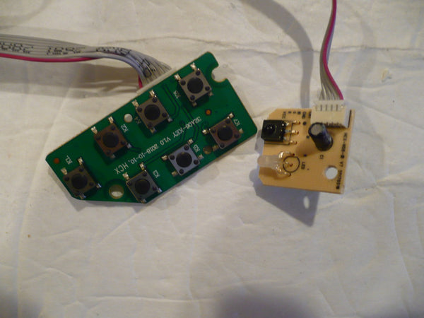 ELEMENT ELEFW328 TV BUTTON AND IR BOARD 32A06-KEY, HCX-N06-IR