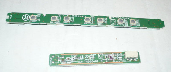EMERSON LC220EM2  TV BUTTON AND IR BOARD    BA17N1G0401 3 2, BA17N1G0401 3 3