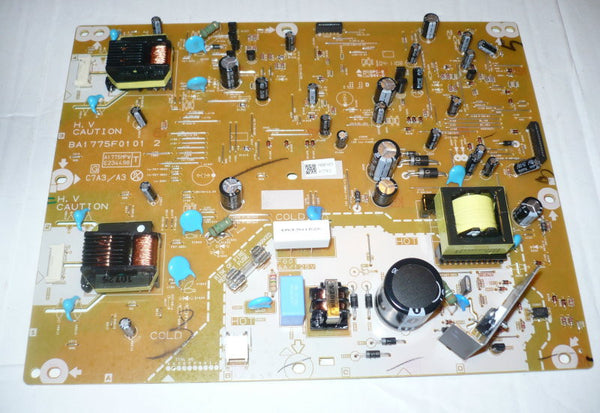 EMERSON LC220EM2  TV POWER SUPPLY BOARD   A17N5MPW / BA17N50101 2