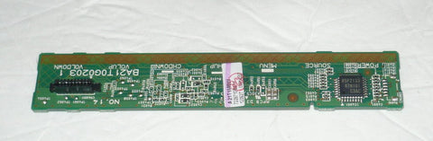 EMERSON LC391EM3 TV BUTTON & IR BOARD A2T1MSW