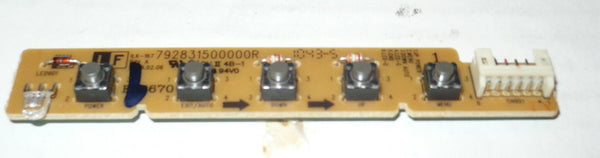 HANNSPREE HF225DPB  MONITOR BUTTON AND IR BOARD   792831500000R