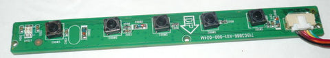 HP 20XLED MONITOR BUTTON BOARD 715G3886-K01-000-004M